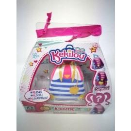 Kekilou Surprise -Mini Borsetta che diventa la bambola Birky e contiene un lip gloss - K-Cutie - Giochi Preziosi