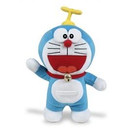 Pupazzo Doraemon Grande - 26 cm con elica - Peluche originale