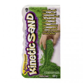 NEW Kinetic Sand Neon Green Sand 680g