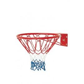 Sport One Canestro da Bashet in ferro regolare con rinforzo