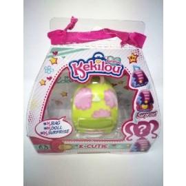 Kekilou Surprise -Mini Borsetta che diventa la bambola Joyce e contiene un' ombretto - K-Cutie - Giochi Preziosi