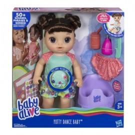 Hasbro Baby Alive - Sophie Mi Scappa la Pipì, Bruna, E0610IC0