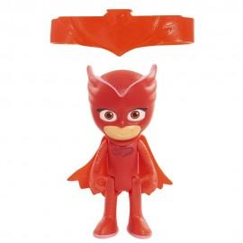 Pj masks Gufetta - OWLETTE - personaggio luminoso con bracciale, super pigiamini