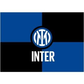 Bandiera Inter Ufficiale Grande cm. 100 x 140 F.C.Internazionale Flag BGINTCR02