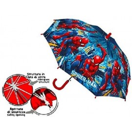 OMBRELLO Spiderman - Uomo Ragno - apertura 72 cm RAINING KIDS materiale pvc x scuola