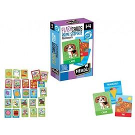 Flashcards Montessori Prime Scoperte IT20553 di Headu