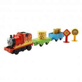 Thomas and Friends Motorized Railway - Busy Bee James Train Playset di Fisher Price