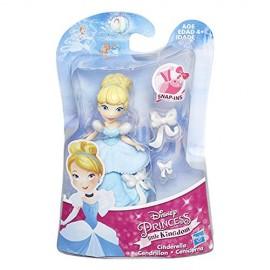 Disney Princess - Little Kingdom - Cenerentola - Mini Bambola 8 cm B5324-B5321 di Hasbro
