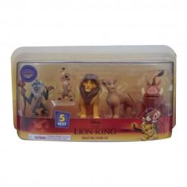 Disney Re Leone Set 5 Personaggi di Giochi Preziosi LNN09000