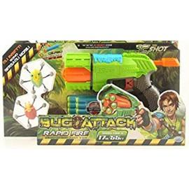 Nuovo  Bug Attack Bug Blaster Pistola e da E Dardi - colpisci gli insetti mentre rotolano 2 insetti inclusi