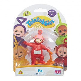 Teletubbies - Po con Monopattino - Mini Personaggio 7 cm