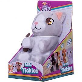 Mini Tickles Club Petz Peluche solletico gatto grigio di IMC Toys
