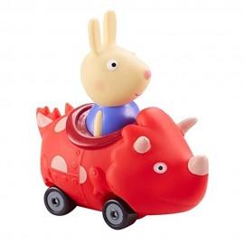 Peppa Pig mini veicolo - Richard nel Dinosauro rosso di Giochi Preziosi