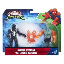 Ultimate Spiderman - Agent Venom vs Green Goblin di Hasbro B5761