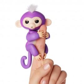 Fingerlings Monkey Scimmietta Bebè Mia da dito Interattiva (viola) di Giochi Preziosi