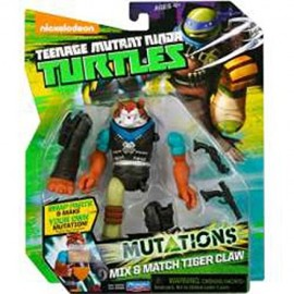 Teenage Mutant Ninja Turtles - Personaggio Mutations, Tiger Claw, 12 cm cod 90389 ass.90380