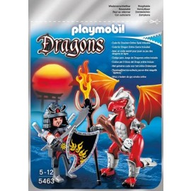 Playmobil 5463 - Drago Fuoco con Guerriero