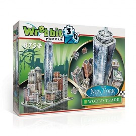 Puzzle 3D New York World Trade, 875 Pezzi di Wrebbit W3D-2012