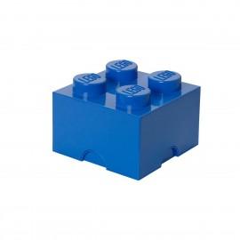LEGO Contenitore Brick 4 colore Blu