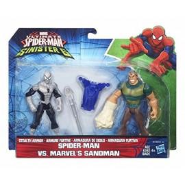 Ultimate Spiderman vs Sinister 6, SPIDER MAN VS MARVEL'S SANDMAN uomo sabbia Hasbro B6139
