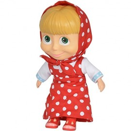 Simba M Simba Masha e Orso Bambola Vestito Rosso a Pois 23 cm