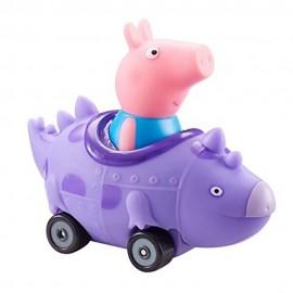 Peppa Pig - George nel Dinosauro mini veicolo di Giochi Preziosi