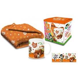 44 GATTI - Set Tazzina e Coperta - Set Blanket And Mug-coperta cm140-90 circa