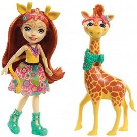 Enchantimals- Gillian la Giraffa cavalcabile e Pawl di Mattel  FKY74