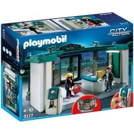 Playmobil 5177 - Banca con bancomat