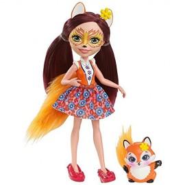 Enchantimals  Felicity La Volpe con Amico Cucciolo Flick di Mattel DVH89