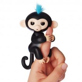 Fingerlings Monkey Scimmietta Bebè Finn da dito Interattiva (nero) di Giochi Preziosi