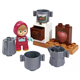 Masha and the Bear - Set Mattoncini [ MODELLO MASHA IN CUCINA ]