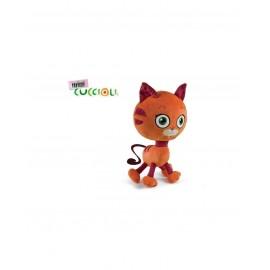 Mini Cuccioli Peluche Olly il Gatto 17 cm di Grandi Giochi