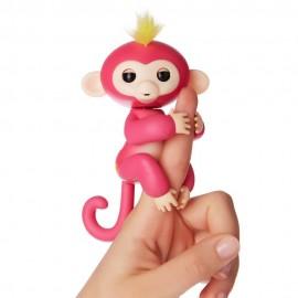Fingerlings Monkey Scimmietta Bebè Bella da dito Interattiva (rosa) di Giochi Preziosi