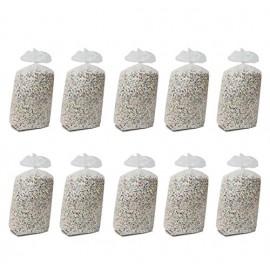 10 sacchi confetti classico di 10 kg.  economico all'interno sono presenti carta color argento che da un effeto migliore al coriandolo , immagine con contenuto del sacco variabile