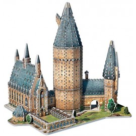 Puzzle Harry Potter 3D, Puzzle Great Hall Hogwarts di Wrebbit