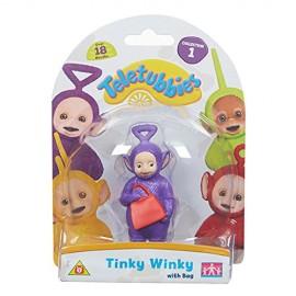 Teletubbies, personaggio Tinky Winky con borsa 8.5cm TLB04000 di Giochi Preziosi