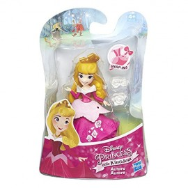 Disney Princess - Little Kingdom - Aurora - Mini Bambola 8 cm B5326-B5321 di Hasbro