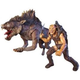 Il Signore degli Anelli Il Ritorno Del Re, Sharku with Warg Beast