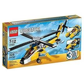 Lego Lego Creator 31023 - ELICOTTERO Bolidi Gialli