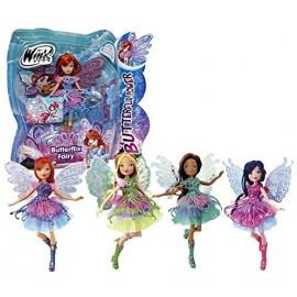 Winx Butterflix Fairy Musa - Stella - Tecna - Flora - Bloom - Aisha