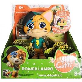 Simba Toys. Personaggio 44 Gatti Lampo con Luci e Suoni 15 cm Parla italiano
