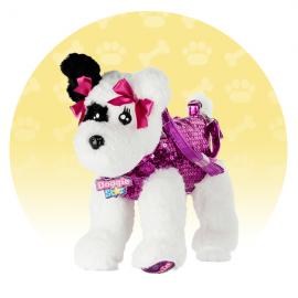 ORIGINALE DI NICE DOGGIE STAR® Borsa a forma di cane Razza Terrier bianco e nero   BELLISSIMI Razza Terrier bianco e nero della Ditta Nice Group Girabrilla
