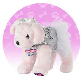 ORIGINALE DI NICE DOGGIE STAR® Borsa a forma di cane di Razza Pinky con tutu BELLISSIMI Razza Pinky con tutu della Ditta Nice Group Girabrilla