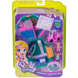 Polly Pocket- Cofanetto Centro Benessere Giocattolo per Bambini 4+Anni, Multicolore, GDK81