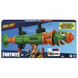 Nerf- Fortnite RL Blaster con Dardi, 2 razzi inclusi, Hasbro E7511