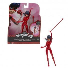 Miraculous Personaggio Deluxe con Funzione, 19 cm ,  Miraculous Personaggio Deluxe Ladybug con 2 Accessori