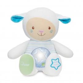 CHICCO Pecora Baby Senses Mamma Lullaby Pecorella, Azzurro