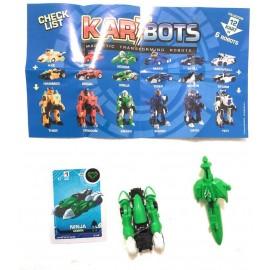 Kart Bots Kartbots Kar Tbots Trasforming Robots (Kartbots Ninja)L'ORIGINALE