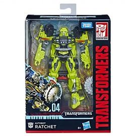 Transformers Studio Series Autobot Ratchet Deluxe di Hasbro E0744-E0701